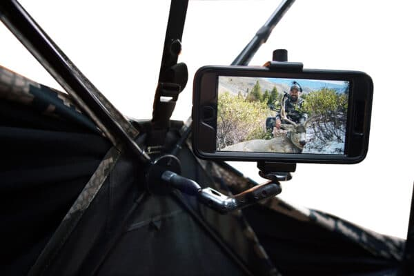 Mini mount with phone adapter camera mount