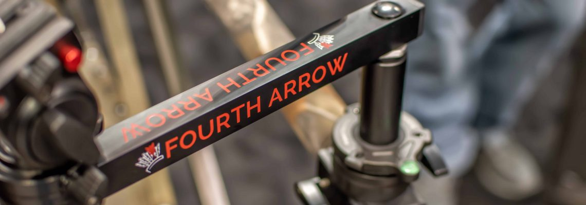 Fourth Arrow's Rex Arm Rail Kit Mounted on A Shooting Rail